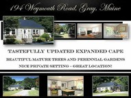 194 Weymouth Road Gray ME, 04039
