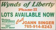 Lot 23 Wynds Of Liberty Liberty IN, 47353