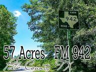 57 Fm 942 Moscow TX, 75960