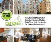 Pangea Real Estate Apartments Chicago IL, 60649