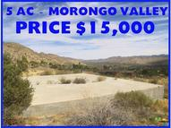 11000 Hill Ave Morongo Valley CA, 92256