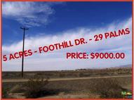 6900 Foothill Dr 29 Palms CA, 92277