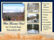 Lot 15 0 (Off) South Road Parsonsfield ME, 04047