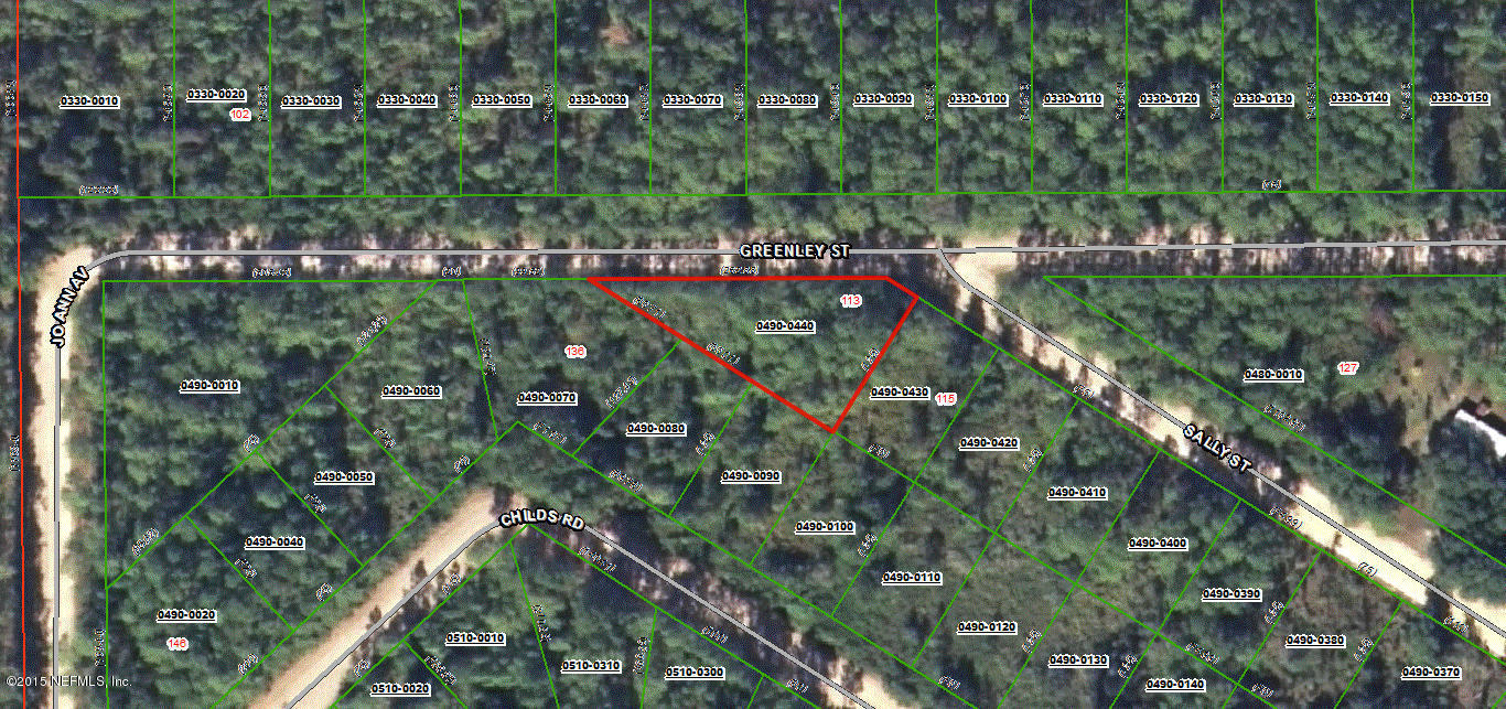 Lot 44 Greenley St Interlachen FL, 32148